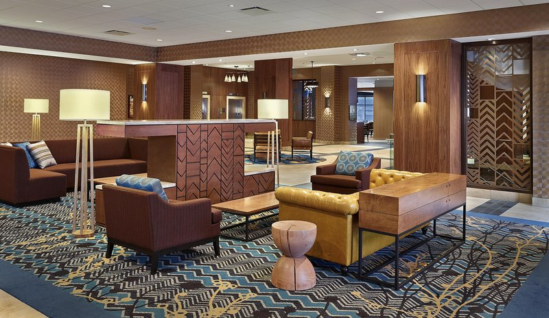 DoubleTree by Hilton Hotel & Conference Centre Regina-Lobby Seating<br/>Image from Leonardo