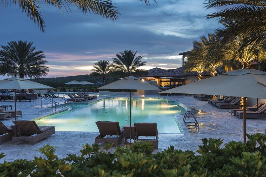 Santa Barbara Beach & Golf Rst - Night Pool <br/>Image from Leonardo