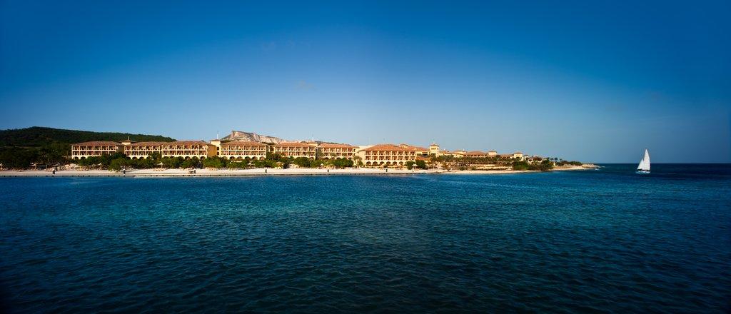 Santa Barbara Beach & Golf Rst - Resort From Water <br/>Image from Leonardo