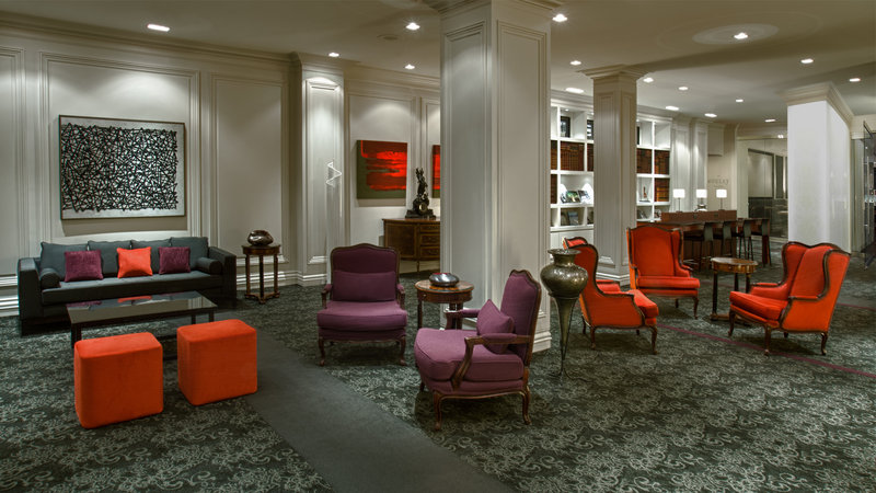 Hotel Manoir Victoria-Interior<br/>Image from Leonardo