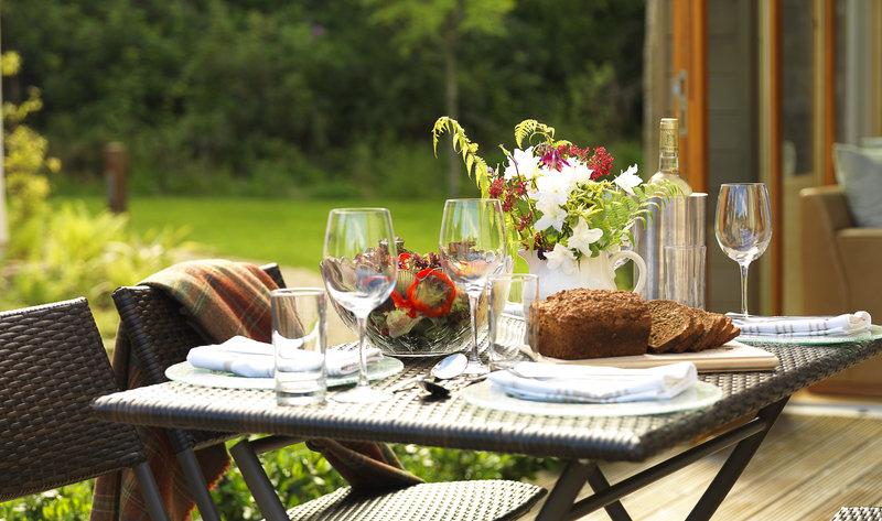 Parknasilla Resort & Spa-Al Fresco Dining Woodland Villas<br/>Image from Leonardo