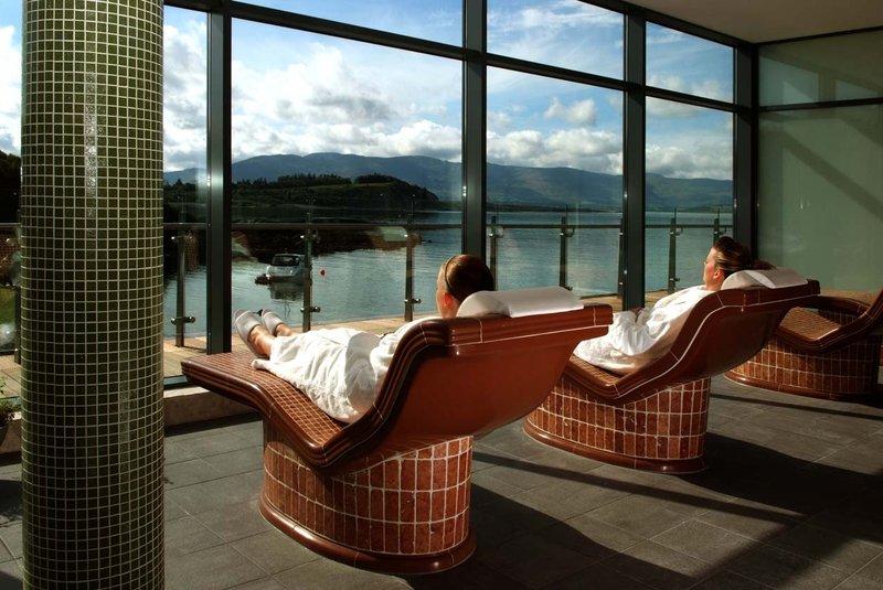 Parknasilla Resort & Spa-Heated Loungers Spa<br/>Image from Leonardo