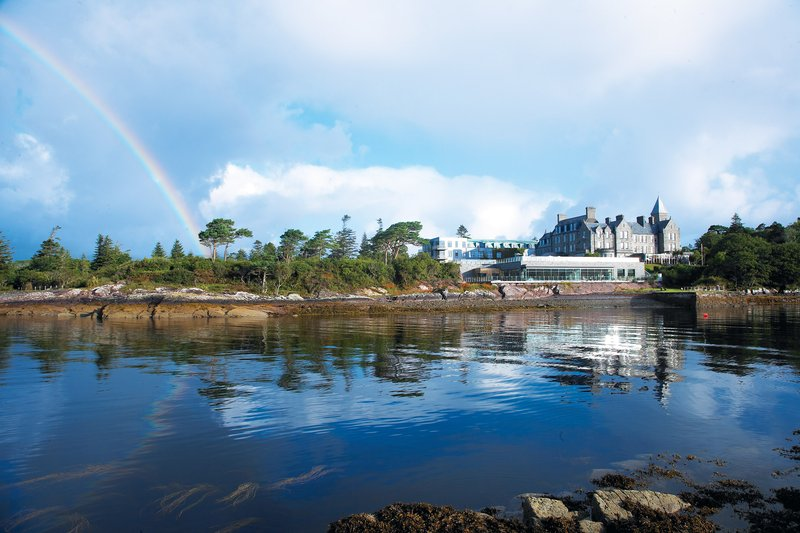 Parknasilla Resort & Spa-Exterior with rainbow<br/>Image from Leonardo
