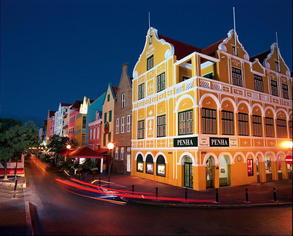 Santa Barbara Beach & Golf Rst - Downtown Willemstad <br/>Image from Leonardo