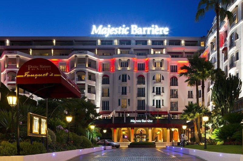 Hotel Barriere Le Majestic-Facade<br/>Image from Leonardo