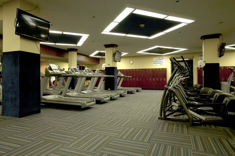 Hilton Cincinnati Netherland Plaza-Gym at Carew Tower<br/>Image from Leonardo