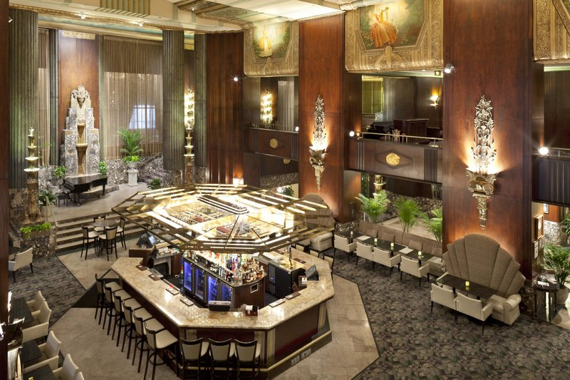 Hilton Cincinnati Netherland Plaza-The Bar at Palm Court<br/>Image from Leonardo