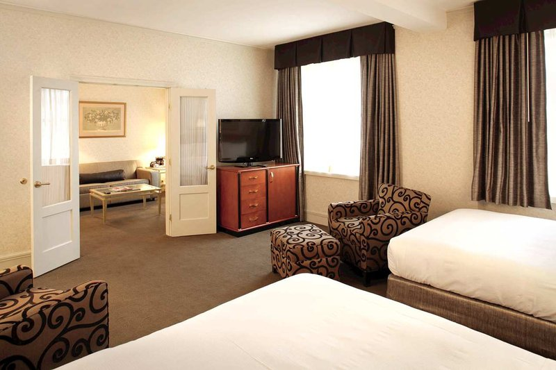 Hilton Cincinnati Netherland Plaza-2 Queen Beds Junior Suite<br/>Image from Leonardo