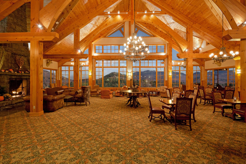 Crowne Plaza Lake Placid-Great Room Lobby<br/>Image from Leonardo