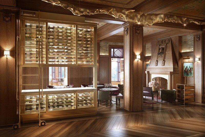 Fairmont Le Chateau Frontenac-Champlain Restaurant<br/>Image from Leonardo