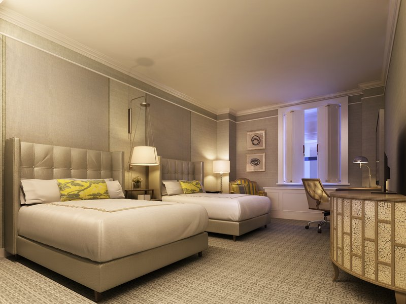 Fairmont Le Chateau Frontenac-Deluxe Room<br/>Image from Leonardo