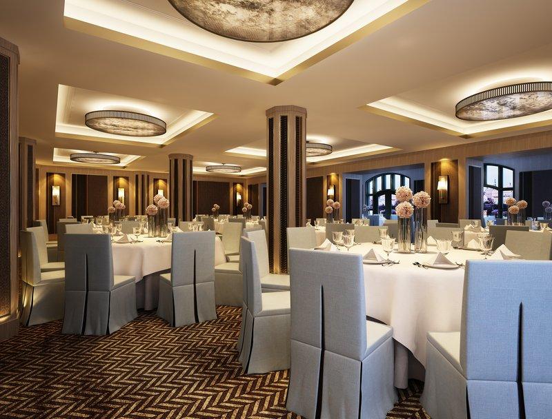 Fairmont Le Chateau Frontenac-Banquet room<br/>Image from Leonardo