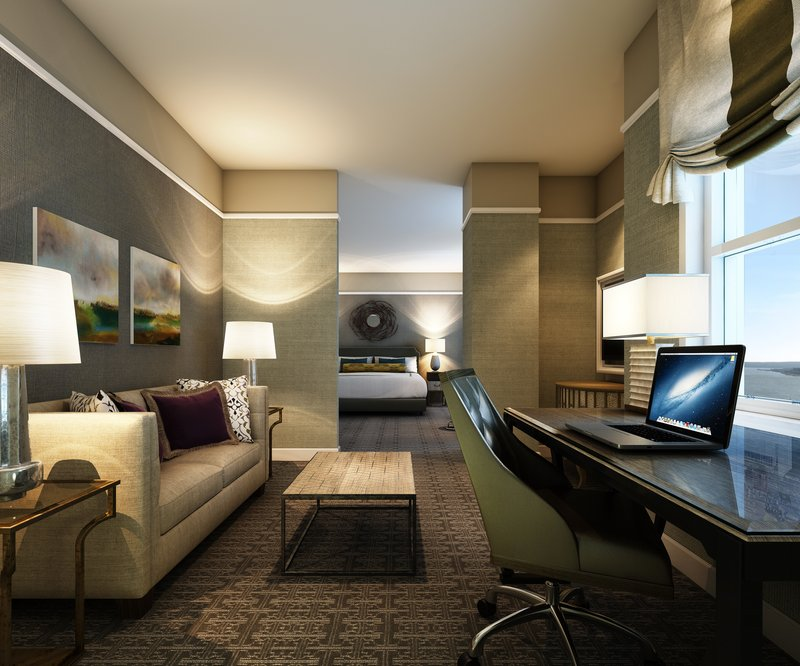 Fairmont Le Chateau Frontenac - Junior Suite <br/>Image from Leonardo