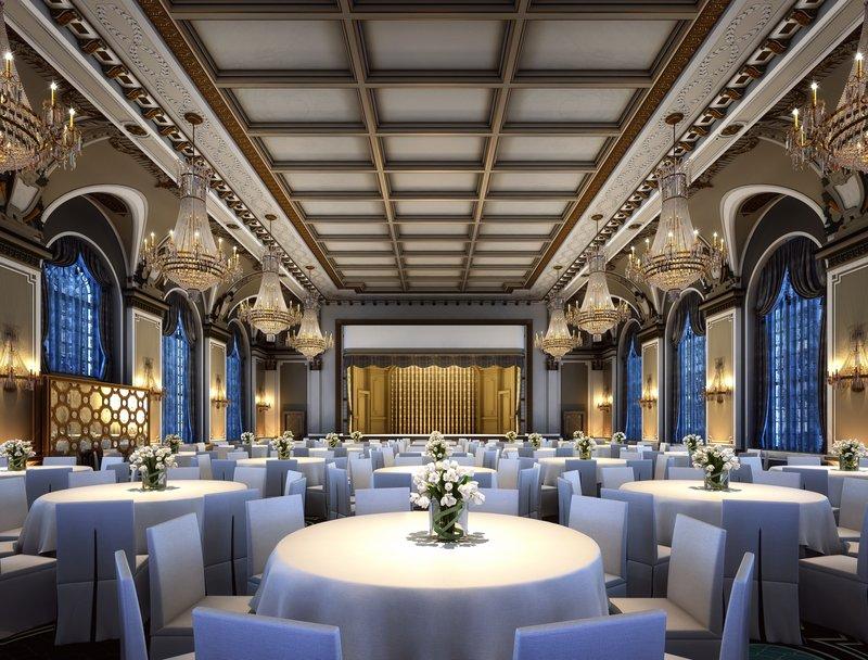 Fairmont Le Chateau Frontenac-Ballroom<br/>Image from Leonardo
