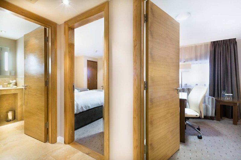 DoubleTree by Hilton Milton Keynes-King Bedroom View From Corridor<br/>Image from Leonardo
