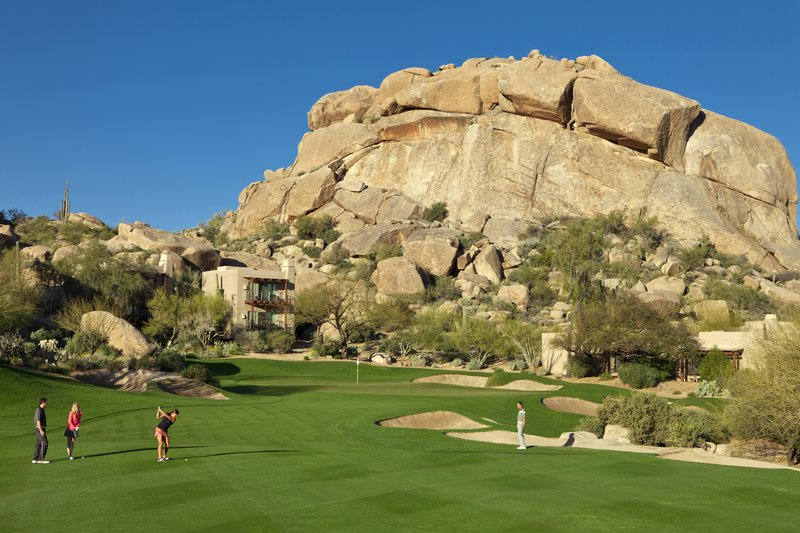 Boulders Resort & Spa, Curio Collection by Hilton-Golf 5th Green<br/>Image from Leonardo