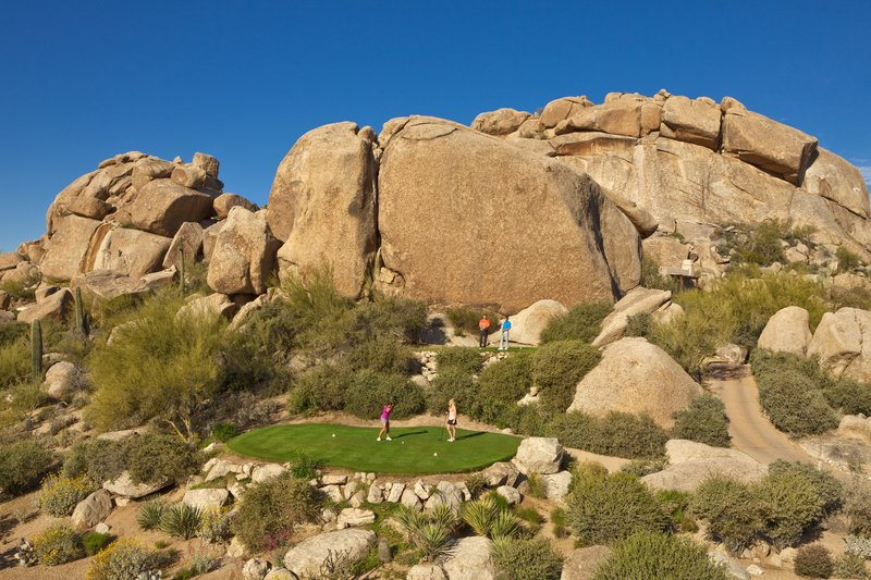 Boulders Resort & Spa, Curio Collection by Hilton-Golf 6th South Tee Box<br/>Image from Leonardo
