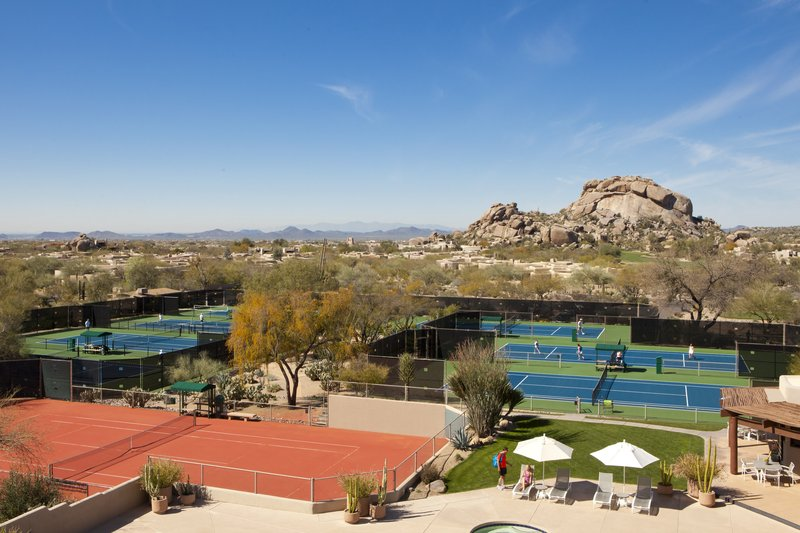 Boulders Resort & Spa, Curio Collection by Hilton-Tennis Center<br/>Image from Leonardo