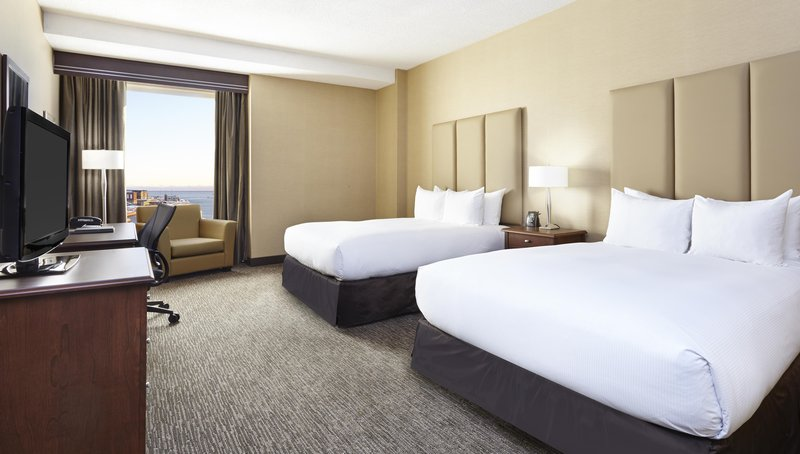 Hilton Saint John Trade &amp; Convention Centre-Two Queen bed Club floor<br/>Image from Leonardo