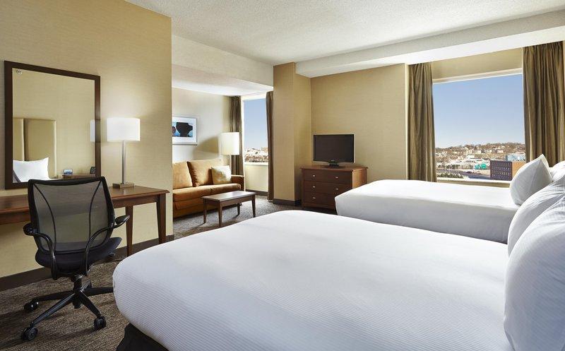 Hilton Saint John-Two queen beds Junior Suite <br/>Image from Leonardo