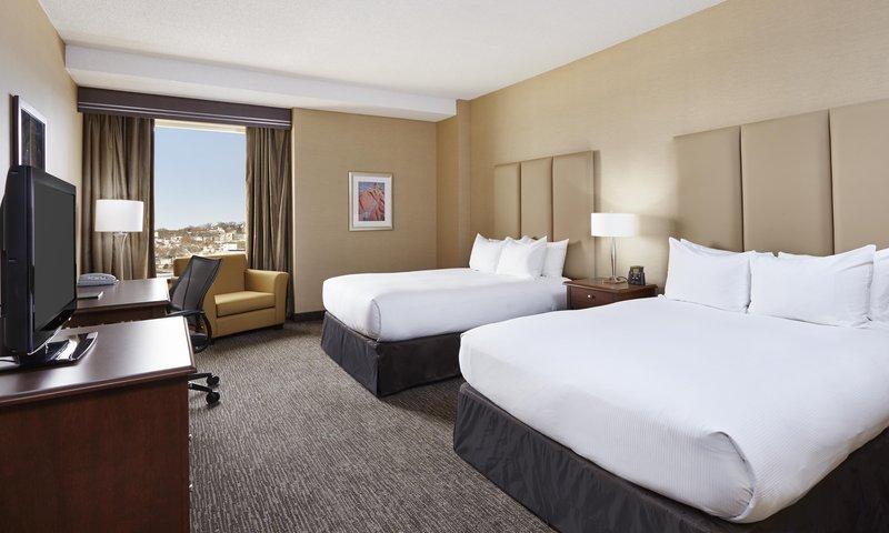 Hilton Saint John-Two Queen beds standard<br/>Image from Leonardo