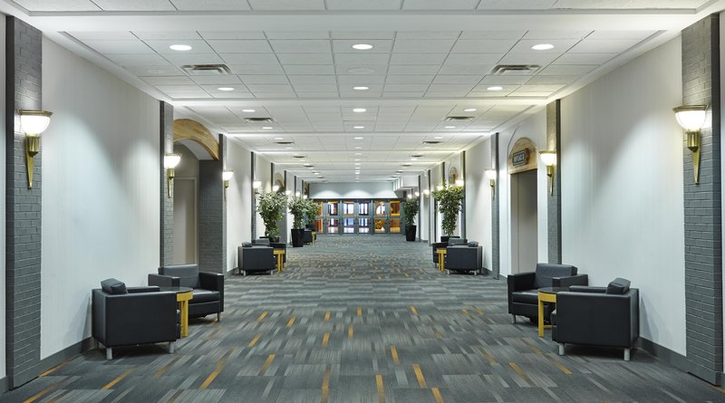 Hilton Saint John Trade &amp; Convention Centre-Trade Centre Foyer<br/>Image from Leonardo