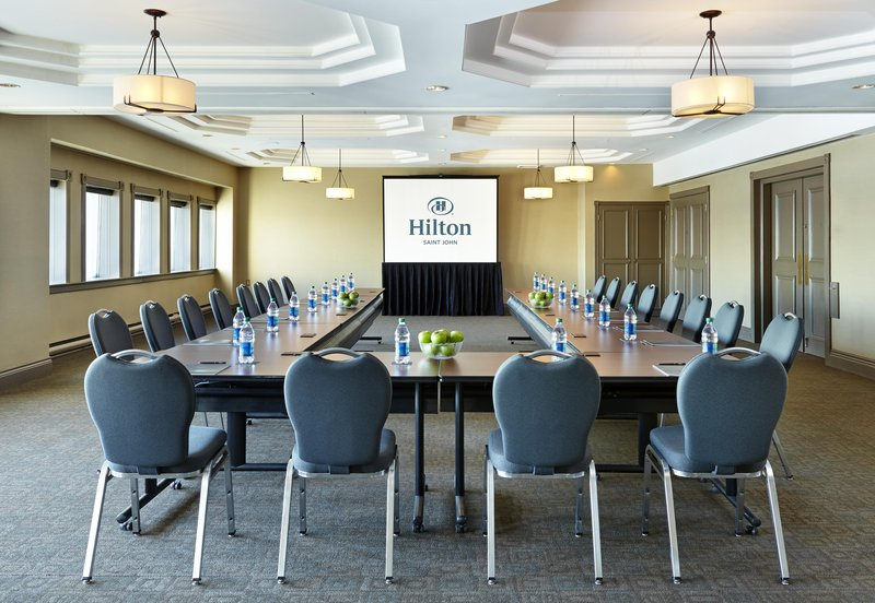 Hilton Saint John Trade &amp; Convention Centre-Kennebecassis Meeting room<br/>Image from Leonardo