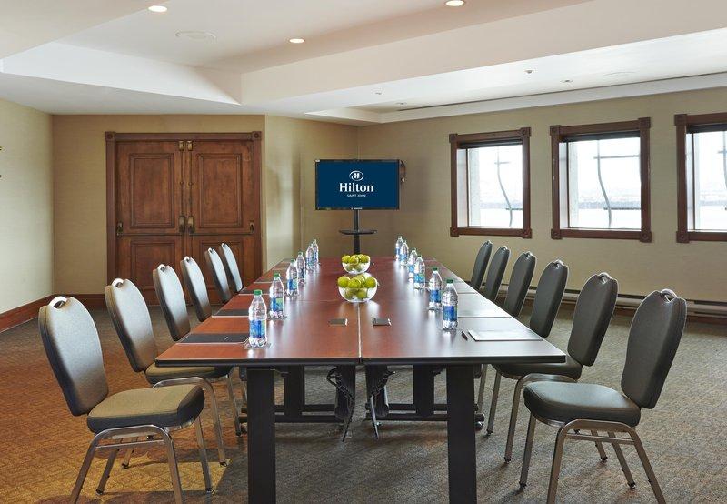 Hilton Saint John-Kings County Meeting Room<br/>Image from Leonardo