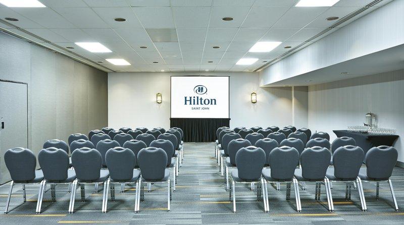 Hilton Saint John Trade &amp; Convention Centre-Trade Centre Spencer Meeting Room<br/>Image from Leonardo