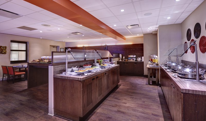 Hilton Saint John-York Breakfast Buffet<br/>Image from Leonardo