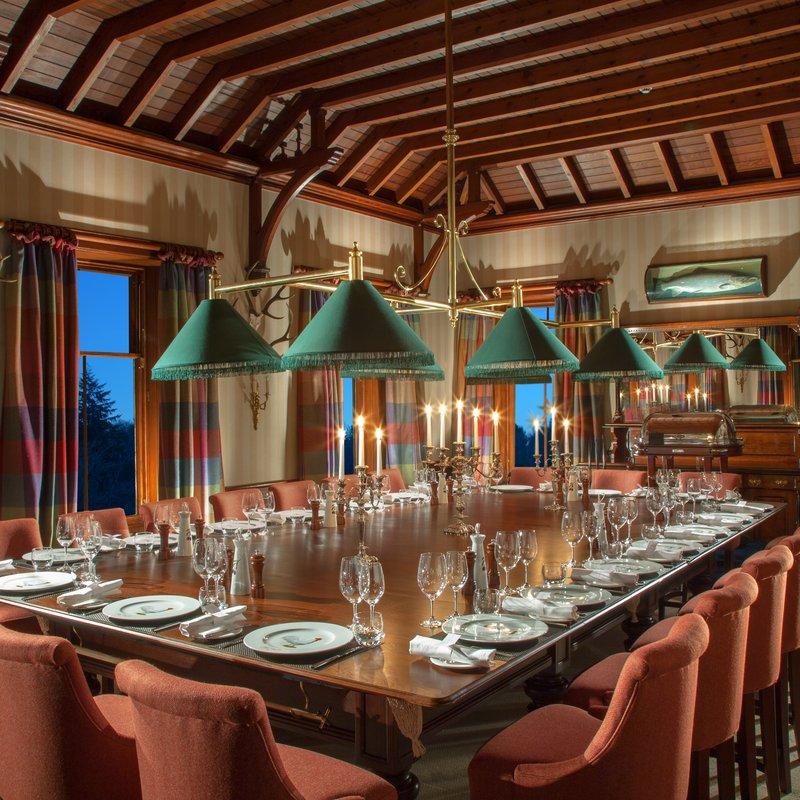 Cromlix House Hotel-Billiard Room Private Dining<br/>Image from Leonardo
