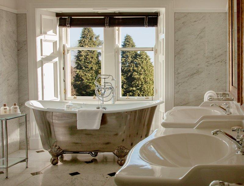 Cromlix House Hotel-Suite -Bathroom<br/>Image from Leonardo