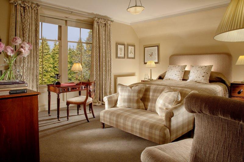 Cromlix House Hotel-Large Double Room<br/>Image from Leonardo