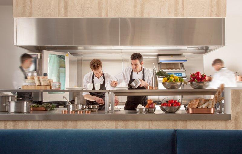 Cromlix House Hotel-Show Kitchen<br/>Image from Leonardo
