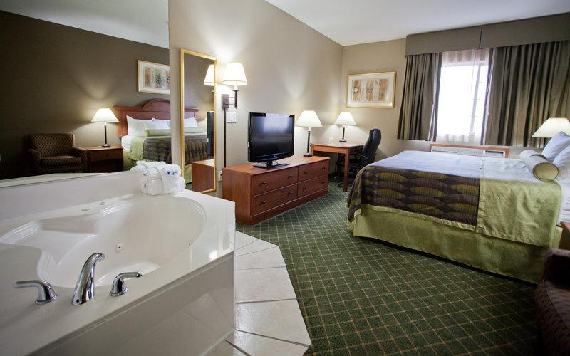 Best Western Plus Tulsa Inn  Suites-Suite with Whirlpool Tub<br/>Image from Leonardo