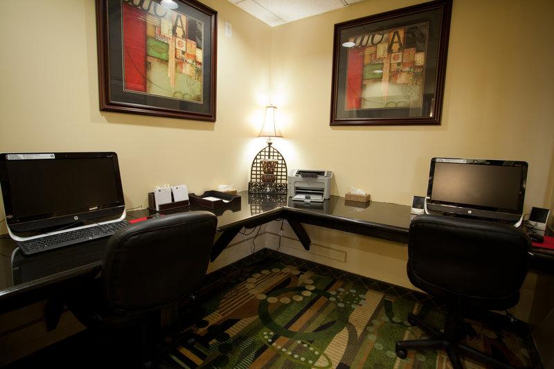 Best Western Plus Tulsa Inn  Suites-Business Center<br/>Image from Leonardo