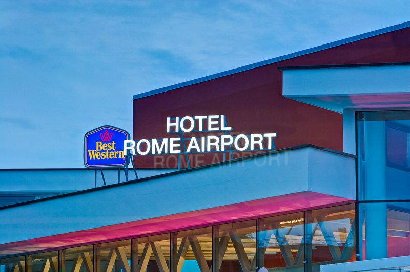 Best Western Hotel Rome Airport-Exterior<br/>Image from Leonardo