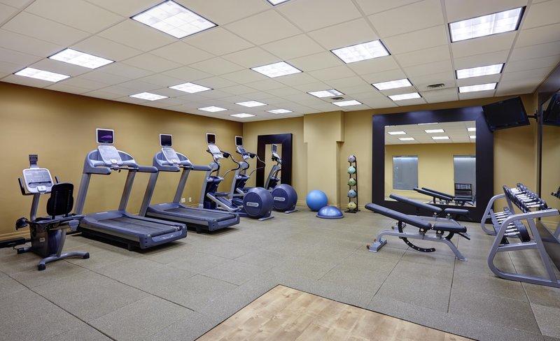 Hilton Saint John Trade &amp; Convention Centre-Fitness Center<br/>Image from Leonardo