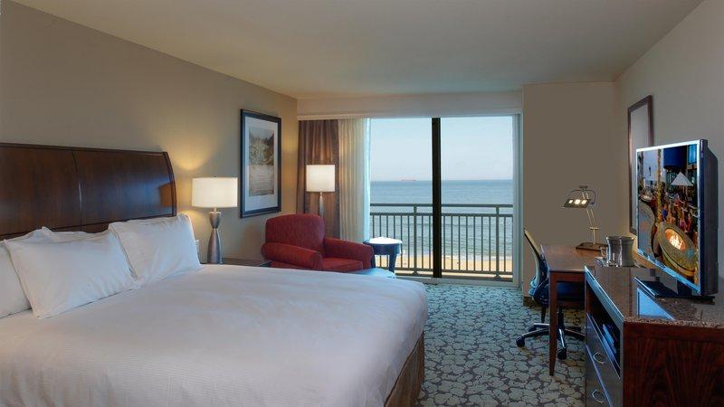 Hilton Garden Inn Virginia Beach Oceanfront-King Guest Room<br/>Image from Leonardo