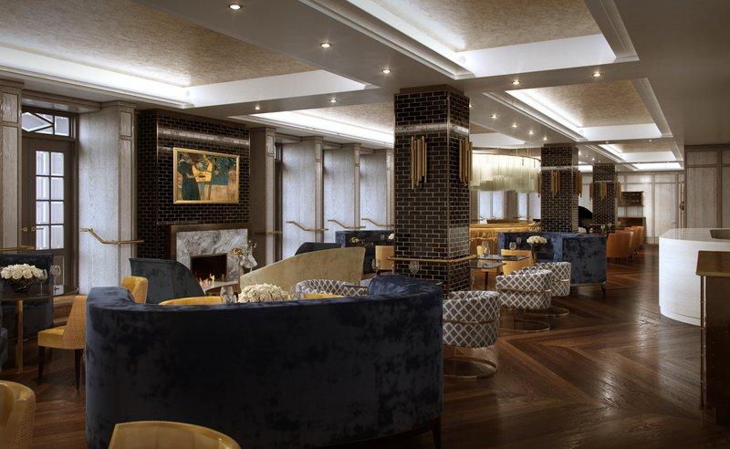 Fairmont Le Chateau Frontenac-Bistro Le Sam restaurant<br/>Image from Leonardo