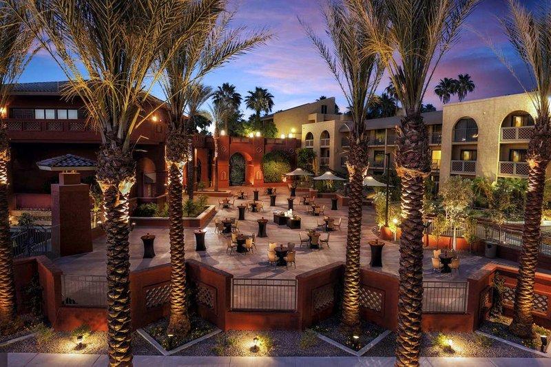 Pointe Hilton Squaw Peak Resort - Anasazi Courtyard Group Reception <br/>Image from Leonardo