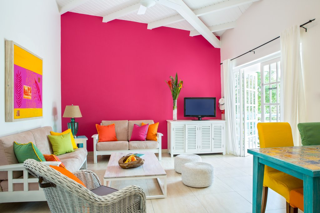 BOARDWALK BOUTIQUE HOTEL ARUBA-Living room<br/>Image from Leonardo
