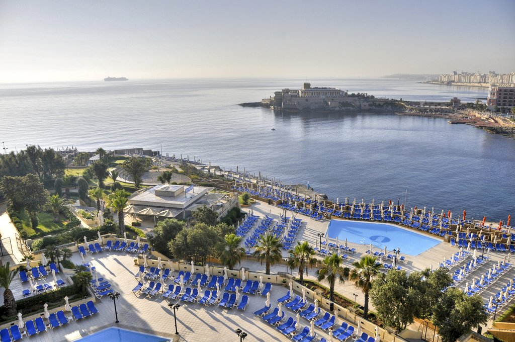 Corinthia Hotel St. George's Bay-Sea view<br/>Image from Leonardo