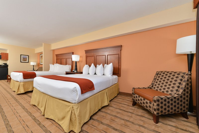 Holiday Inn Express & Suites Palm Coast - Flagler Beach Area-Queen Bed Guest Room<br/>Image from Leonardo