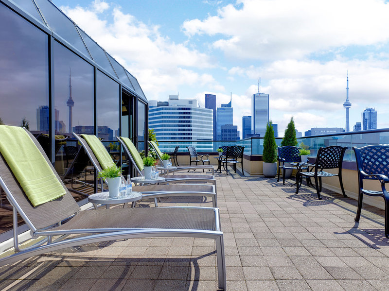 Chelsea Hotel Toronto-Deck 27 Sun Deck<br/>Image from Leonardo
