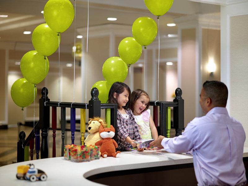 Chelsea Hotel Toronto-Kids Check-In Desk<br/>Image from Leonardo