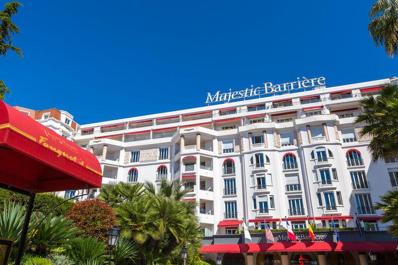 Hotel Barriere Le Majestic-Facade Majestic<br/>Image from Leonardo
