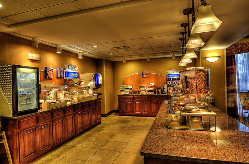 Holiday Inn Express & Suites Sioux City - Southern Hills-Breakfast Area<br/>Image from Leonardo