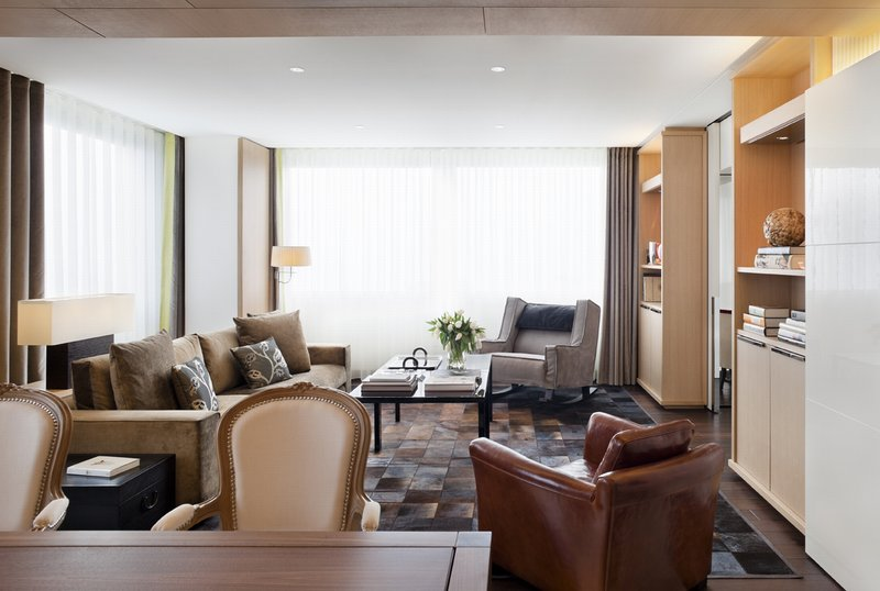 InterContinental Geneve-Living Room from the Presidential Suite<br/>Image from Leonardo