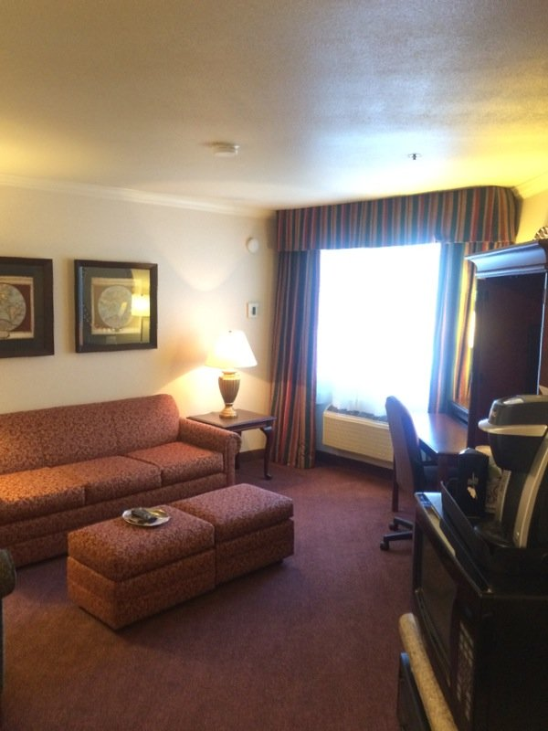 Holiday Inn Selma-Swancourt-XOTN King Suite Living Room (Pull-out Sofa)<br/>Image from Leonardo